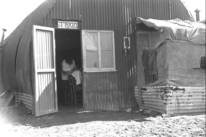 Лагерь на Кипре для еврейских нелегалов