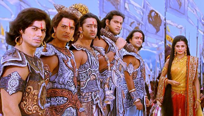Драупади -героиня индийского эпоса «Махабхарата», жена сразу для пяти братьев Пандавов.